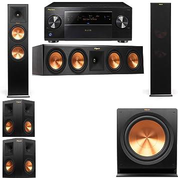 Amazon com: Klipsch RP-280F Tower Speakers-RP-450C-5 1
