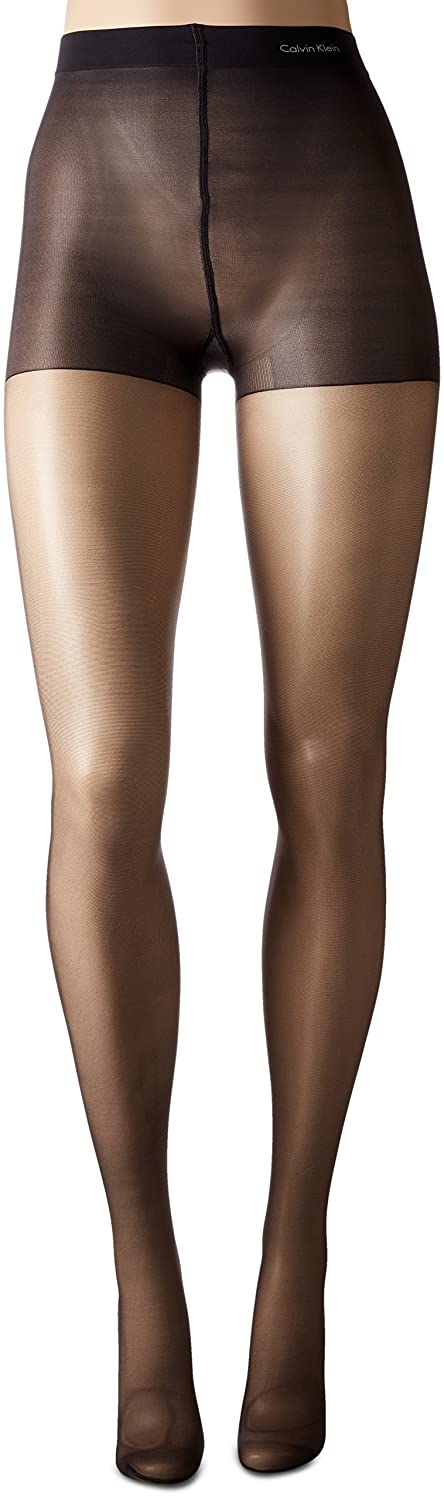 f253a131272e1 CK Women's Matte Ultra Sheer Pantyhose with Control Top at Amazon Women's  Clothing store: