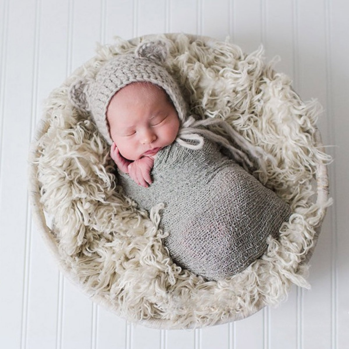 Amazon.com: Tinksky Long Ripple Wrap, DIY Newborn Baby
