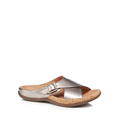 45c731bffd300 Strive Footwear Maria Buckle Sandal Soft Leather Crossover Stylish ...