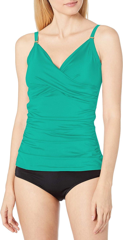 Calvin Klein Women's Fresno Mall Standard Attention brand Tankini with Swimsuit Adjustable S