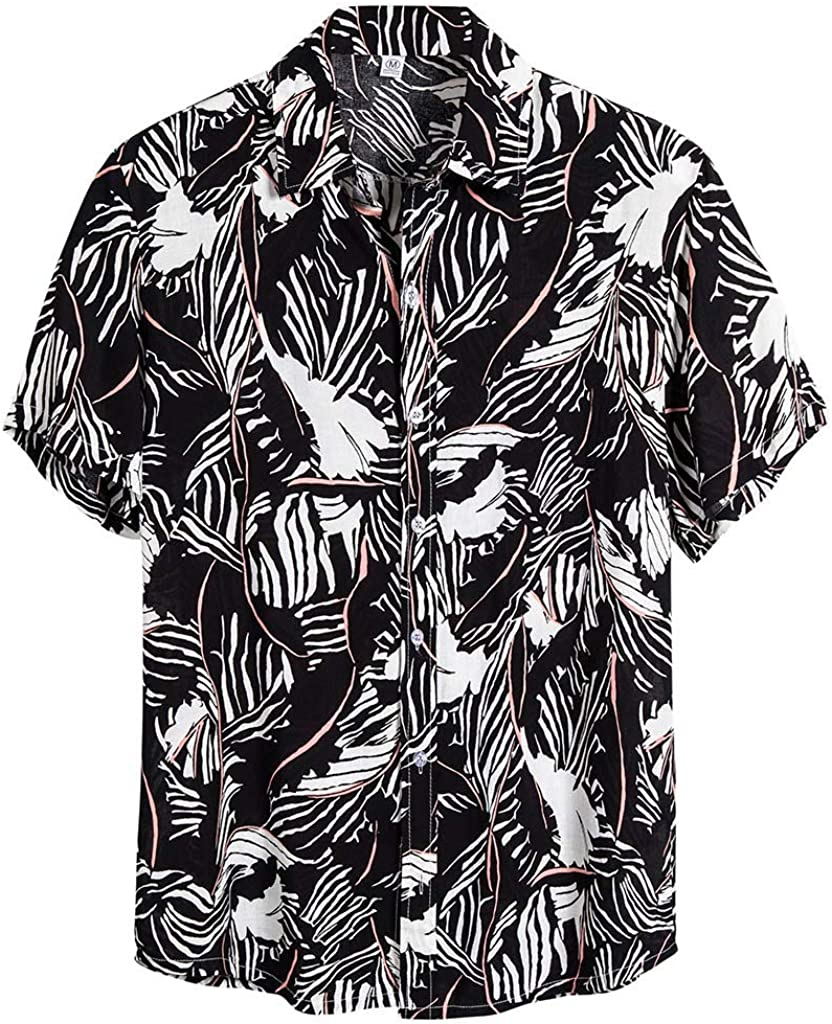 Leyerer Mens Linen Shirt Casual Button Down Long Sleeve Lightweight Basic Regular Fit Summer Beach Tops