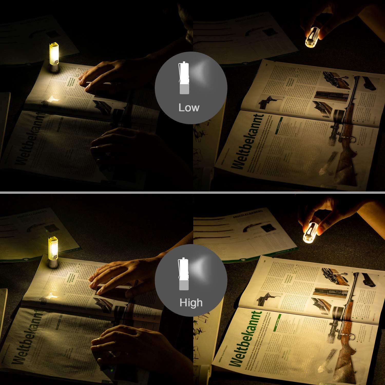 1000 l/úmenes, luz UV, chip Cree LED Linterna RovyVon A28