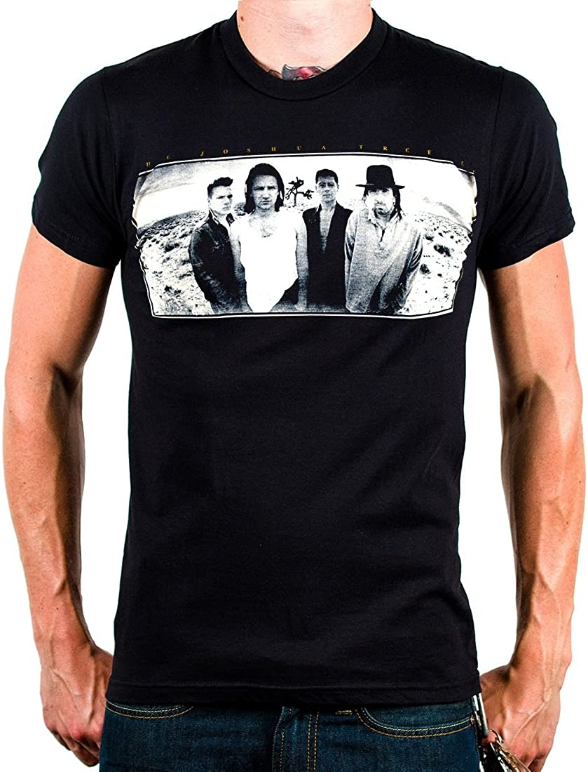 NEW MENS T-SHIRT U2 Joshua