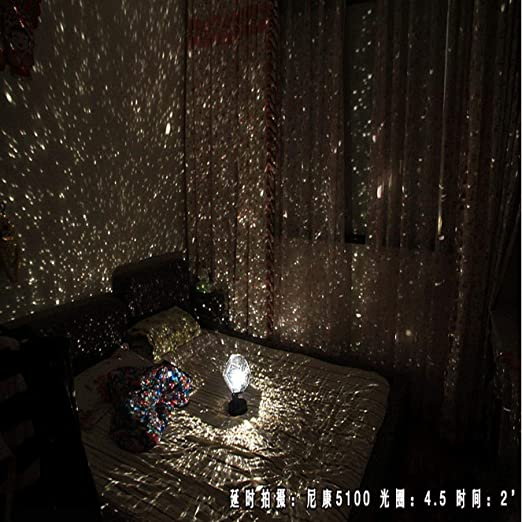 highouse Hermoso Ebought Estrella Noche Luz Proyector, Bricolaje ...