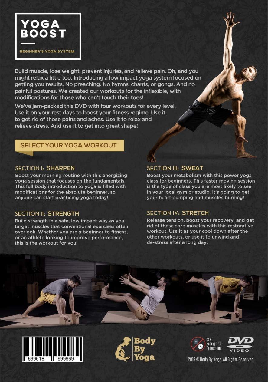 Gewicht zu verlieren Muskelaufbau Body by Yoga Boost: Anf/änger Yoga-System f/ür M/änner und Frauen Beruhigen Sore Muskeln und Stress abzubauen die normalerweise Nicht tue Yoga-Do