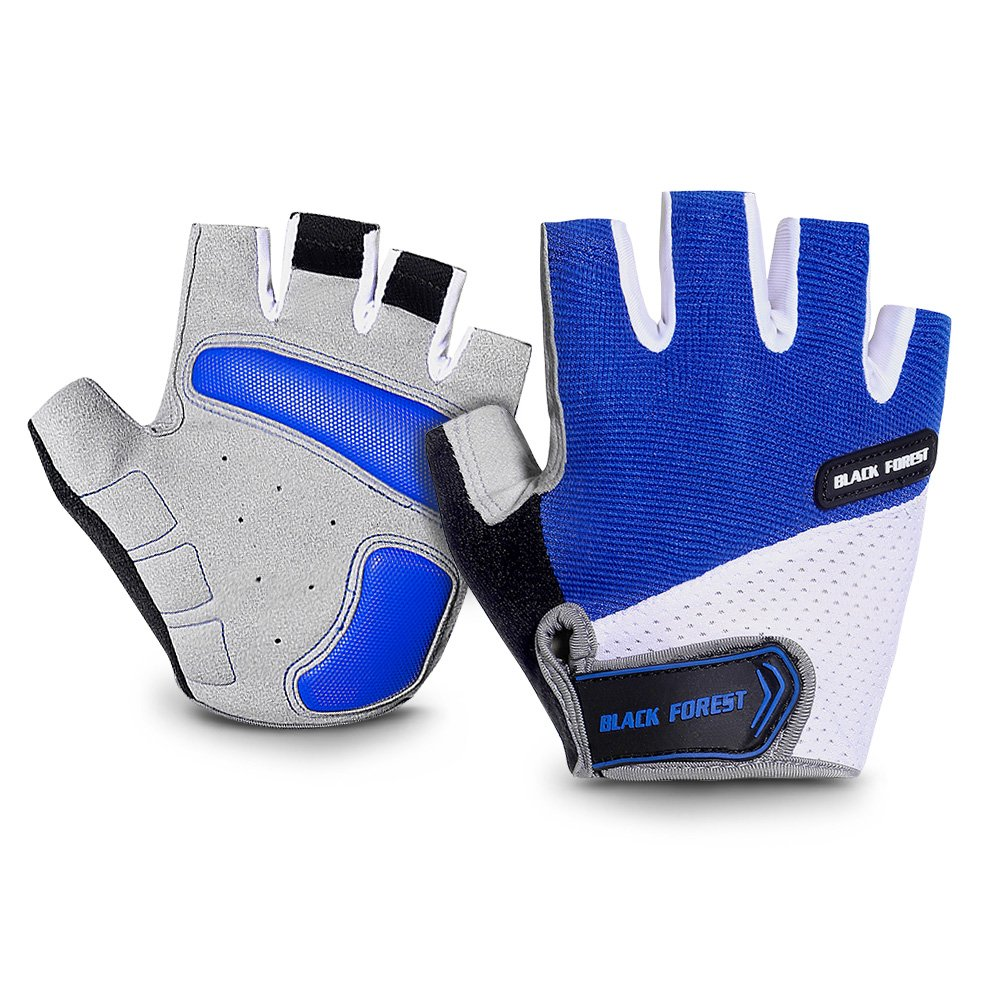 Kids Biking Glove Breathable Half Finger Cycling Gloves Non-Slip Shock-Absorbing Glove Biking Riding Gloves Outdoor Sports Gloves for Fishing Bicycle Hunting Climbing for Girls Boys UUNITONA Ltd.