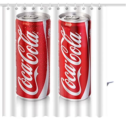 Coca Cola Bathroom Decor.Amazon Com Zoyon Shower Curtain Chisinau Moldova December Editorial