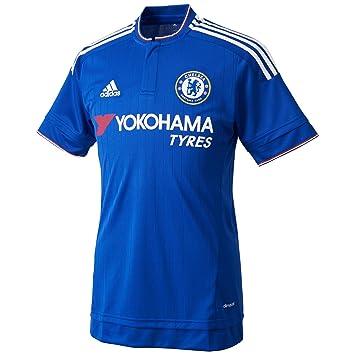 1ª Equipación - Chelsea 2015/2016 - Camiseta oficial adidas: adidas: Amazon.es: Deportes y aire libre
