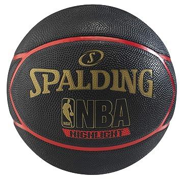 Spalding Balón de Baloncesto Highlight Rojo 29.5