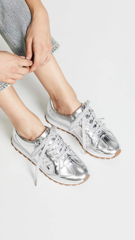 Tory Sport Womens Ruffle Trainer Sneakers