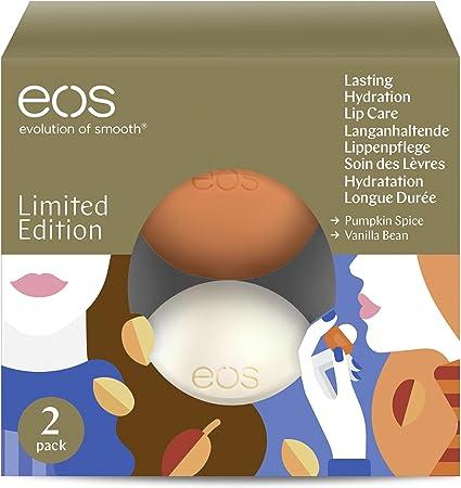 EOS 2 Pack Lip Balm Holiday Collection 2017: Amazon.es: Belleza