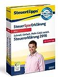 SteuerSparErklärung 2017 plus (für Steuerjahr 2016)