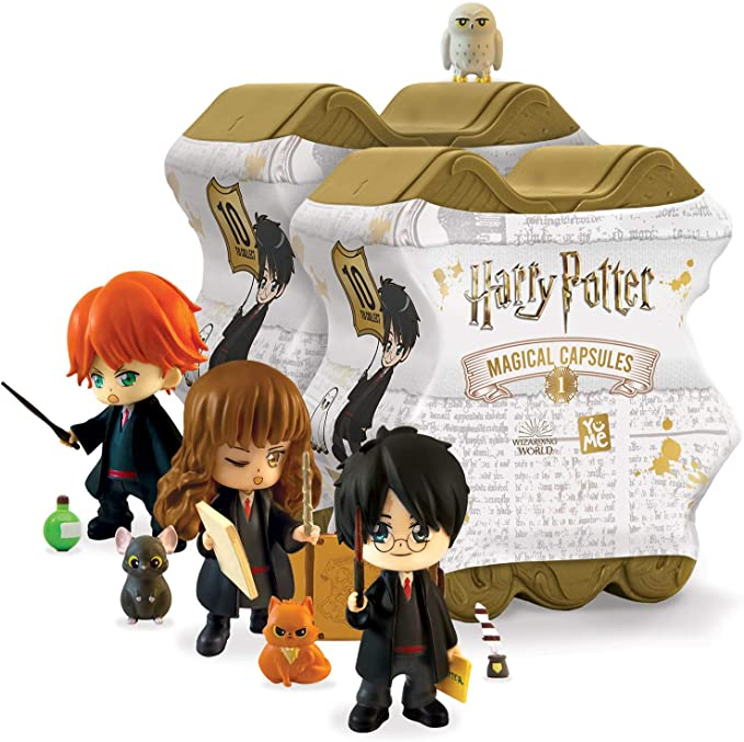 Amazon.com: 2-Pack Harry Potter Magical Capsule - Series 1: Toys & Games