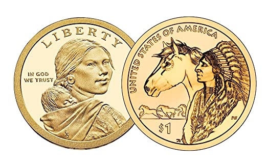 2019 S Native American Sacagawea Mint Proof ~ US Coin from Proof Set