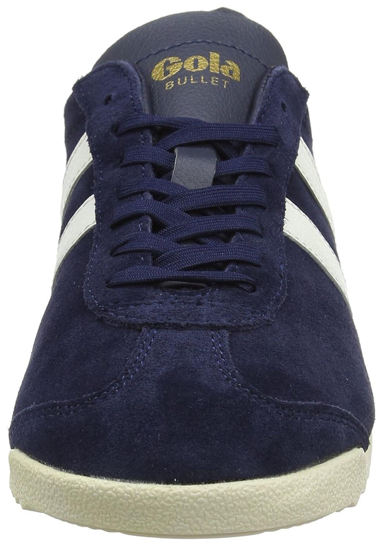 Gola Women's Bullet Suede Fashion Sneaker B072BY62P2 6 B(M) US|Navy/Off-white