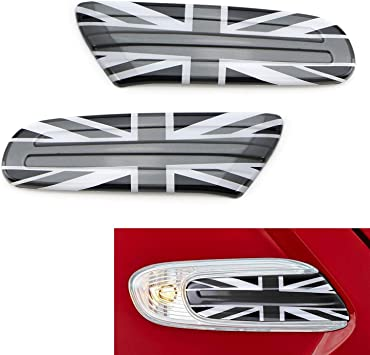 UK Red//Blue Interior Door Handle+Glove Box Covers for Mini Cooper R50 R52 R53