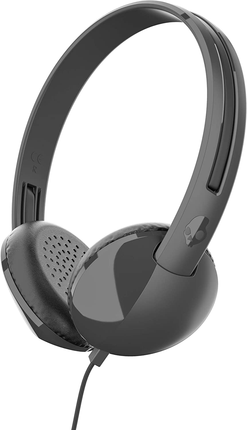 Skullcandy Stim On-Ear Headphones with Built-In Microphone and Remote, Supreme Sound Balanced Audio, Lightweight Design for Comfortable Fit, Black