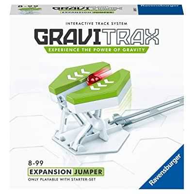 Ravensburger GraviTrax Jumper Accessory - Marble Run and STEM Toy for Boys and Girls Age 8 and Up - Expansion for 2020 Toy of The Year Finalist GraviTrax: Toys & Games