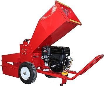 HZC Power SR176 - Motor de gasolina, madera, trituradora de jardín, trituradora de jardín, trituradora de madera, madera blanda: Amazon.es: Bricolaje y herramientas