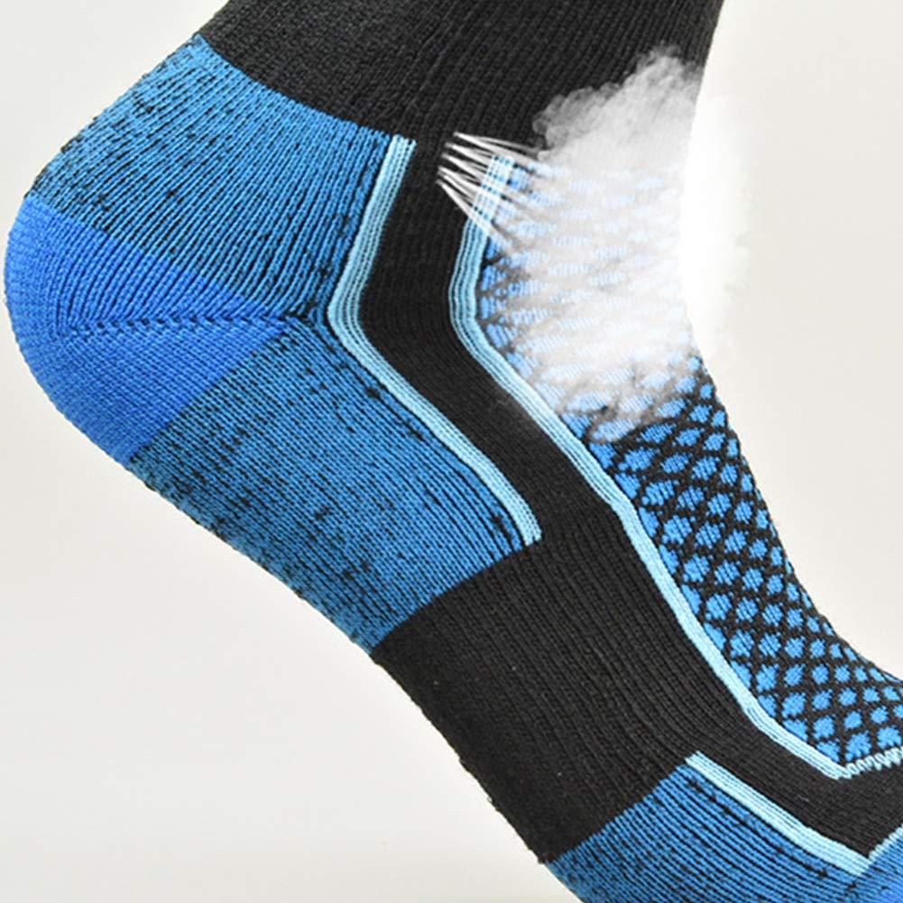 Thicken Wearproof Cycling GEZICHTA Ski Socks Skiing Warm Anti-Friction Long Socks for Women//Men Winter Outdoors Sports