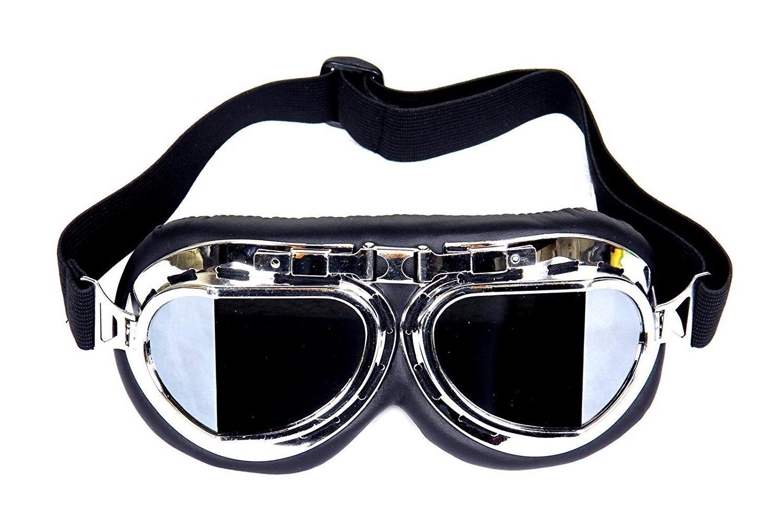 Beito Steampunk moto occhiali con lenti fum/è
