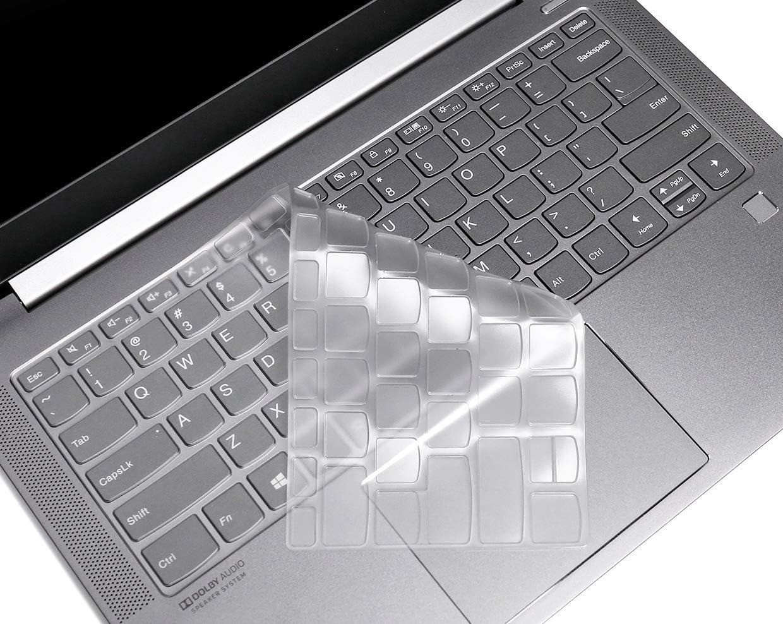 "CaseBuy Keyboard Cover Skin for Lenovo Flex 5 14"" 2-in-1 Laptop/Idepad S540 14 inch/IdeaPad Flex 5 14"", Ultra Thin TPU Keyboard Protector Skin for Flex 5 14 inch"