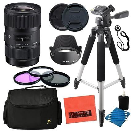Sigma 18 - 35 mm f/1,8 DC HSM Art Lens para Nikon Cámaras réflex ...