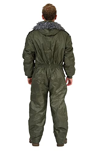 7e55fbc44 Amazon.com  HAGOR Green IDF Snowsuit Winter Clothing Snow Ski Suit ...