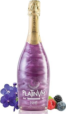 cóctel vínico con extractos naturales de violetas y frutas del bosque,botella de 75cl / volumen de a