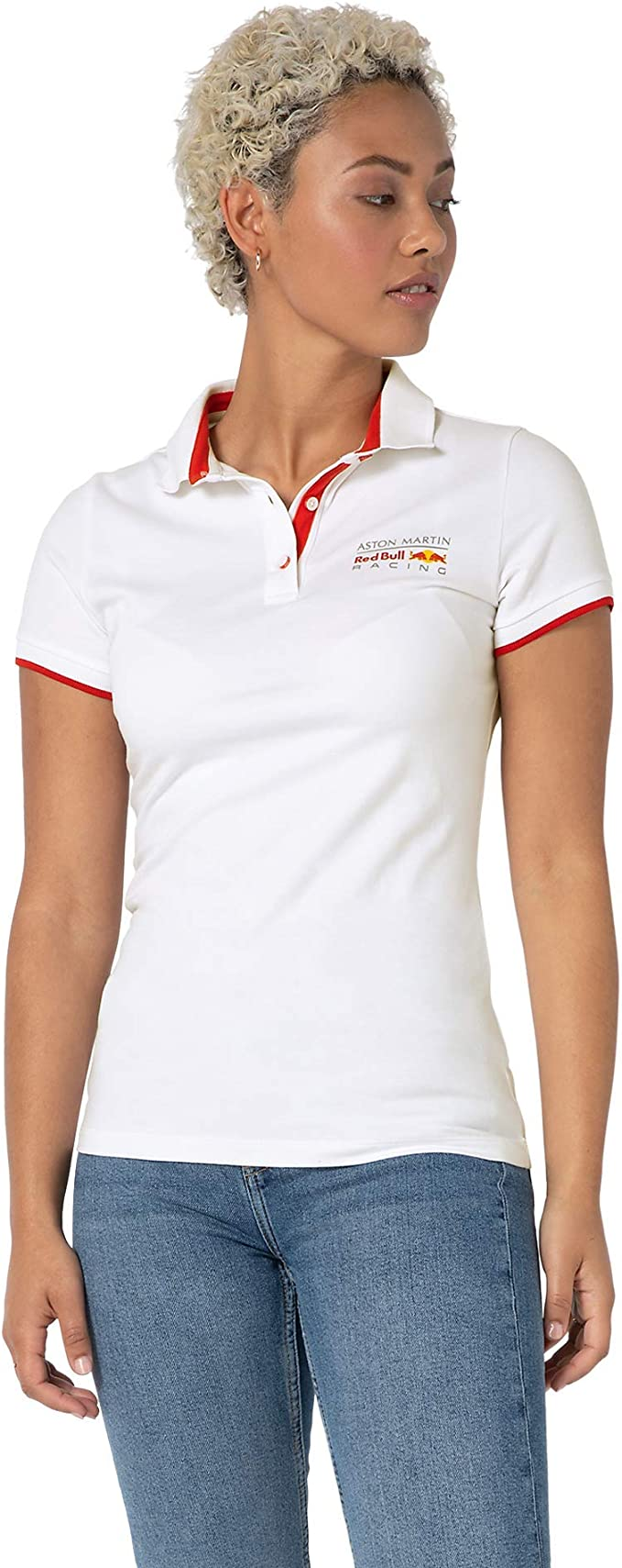 Red Bull Racing Classic Camisa Polo, Mujeres Large - Original Merchandise