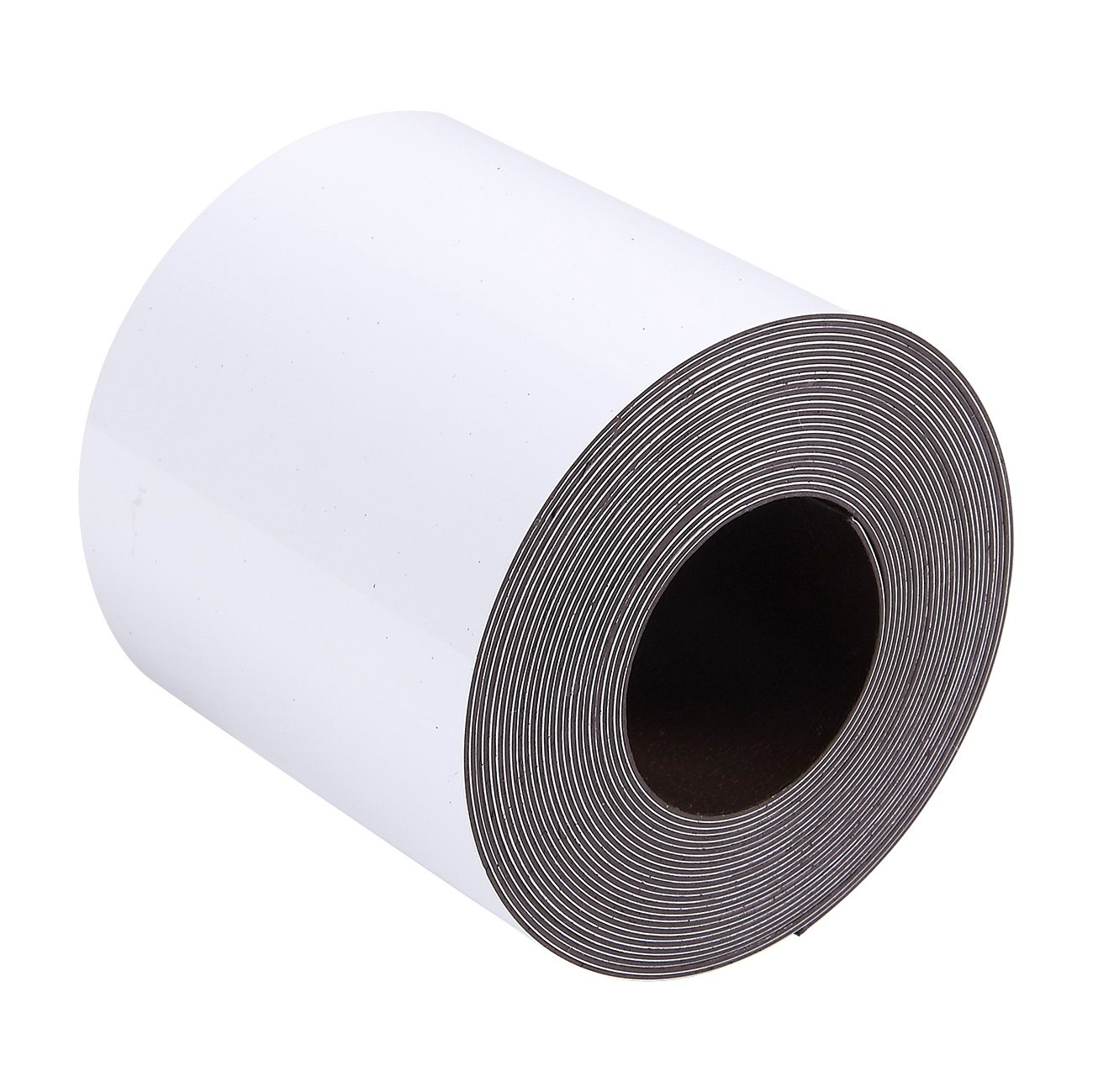 Magnetic Tape Roll White 2 Inches x 10 Feet Rewritable Magnetic Dry Erase Whiteboard Roll