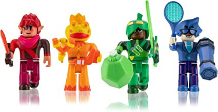 Roblox Champions of Roblox 6 Action Figures UK Seller Exclusive Virtual Item