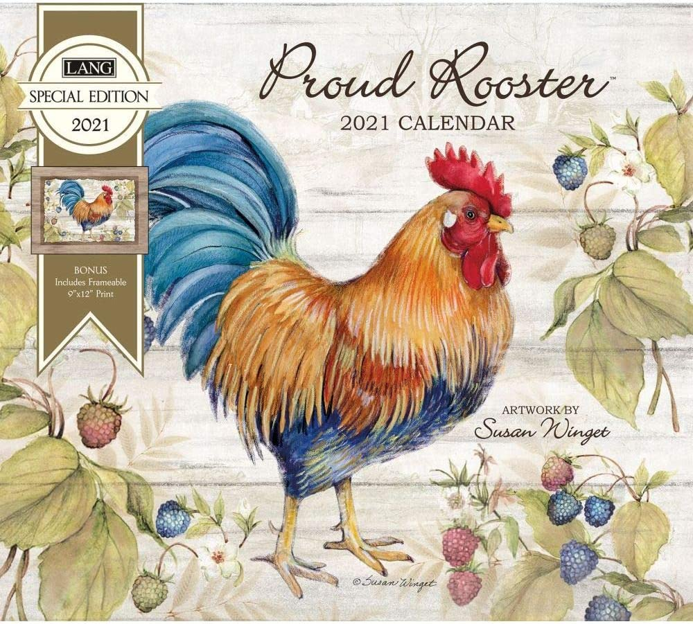 The Lang Companies, 2021 Proud Rooster Special Edition Wall Calendar