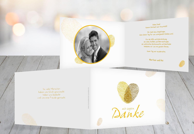 Kartenparadies Danksagung für Hochzeitsgeschenke Hochzeitsgeschenke Hochzeitsgeschenke Hochzeit Dankeskarte fingerprint, hochwertige Danksagungskarte Hochzeitsglückwünsche inklusive Umschläge   20 Karten - (Format  148x105 mm) Farbe  Grau B01NBX4SUP | Starker Wert  | Toy  95f79b