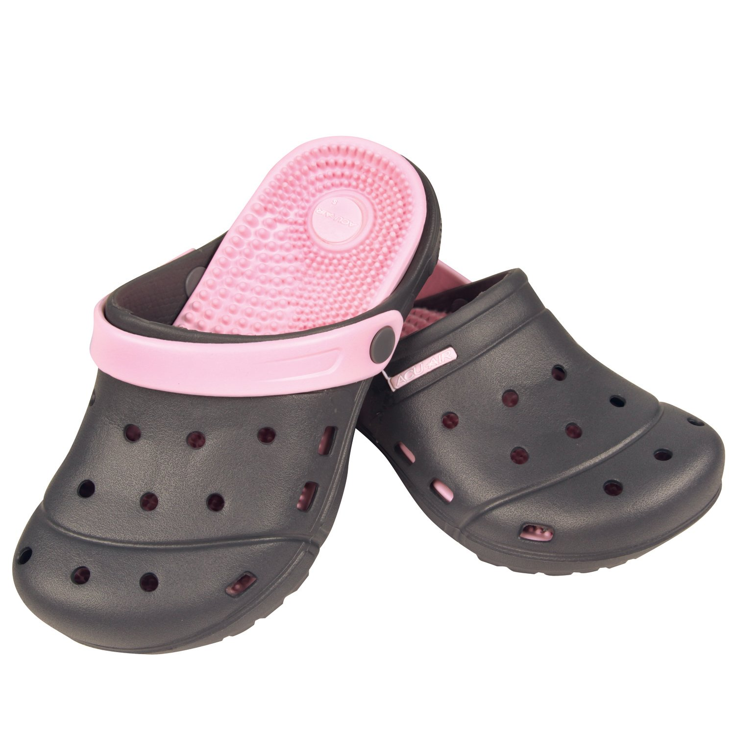 Therapeutic Air-Acu Clogs (Ladies Pink Small 7)