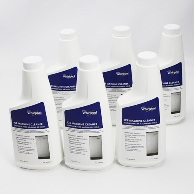 Amazon.com: 4396808 Ice Machine Cleaner Nickel-Safe Formula 16 oz ...