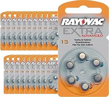 120 Batterien Hörgeräte Rayovac 13 Extra Advanced Batterie Gehörschutz Pr48 Batterien Für Hörgeräte 13 Ae A13 Da13 P13 Pr13h Drogerie Körperpflege