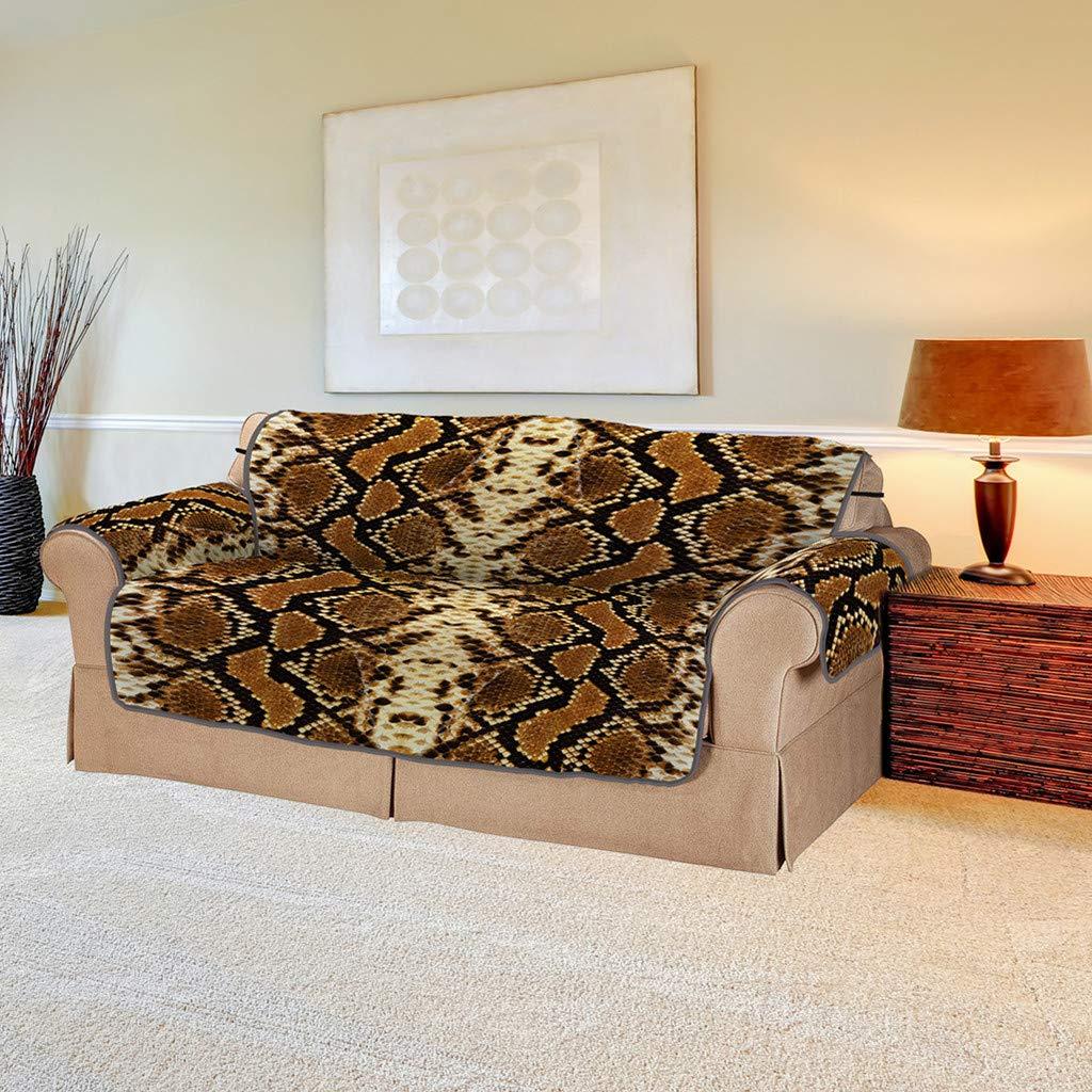 Super Amazon Com Moonhome Snake Pattern Anti Slip Quilted Sofa Machost Co Dining Chair Design Ideas Machostcouk