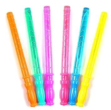 24 Seifenblasen Schwert Stab 37cm Bubble Spielzeug für Draußen Outdoor Mitgebsel Business & Industrie