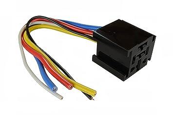 71O9Tew3UUL._SX355_ amazon com temco 12 v 60 70 80 amp bosch style s relay harness