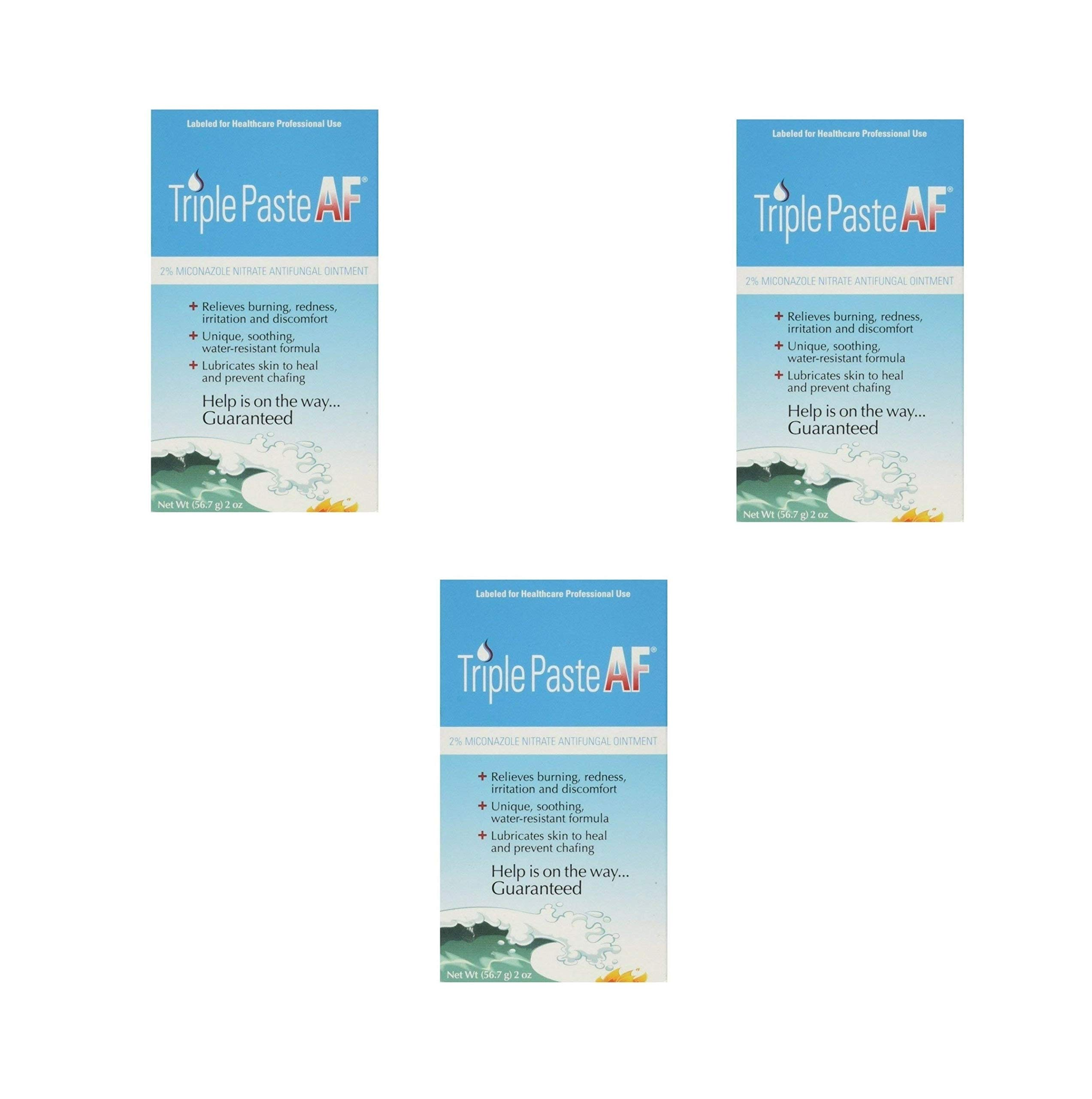 Triple Paste AF Antifungal Nitrate Medicated Ointment 2 oz (3 Pack)