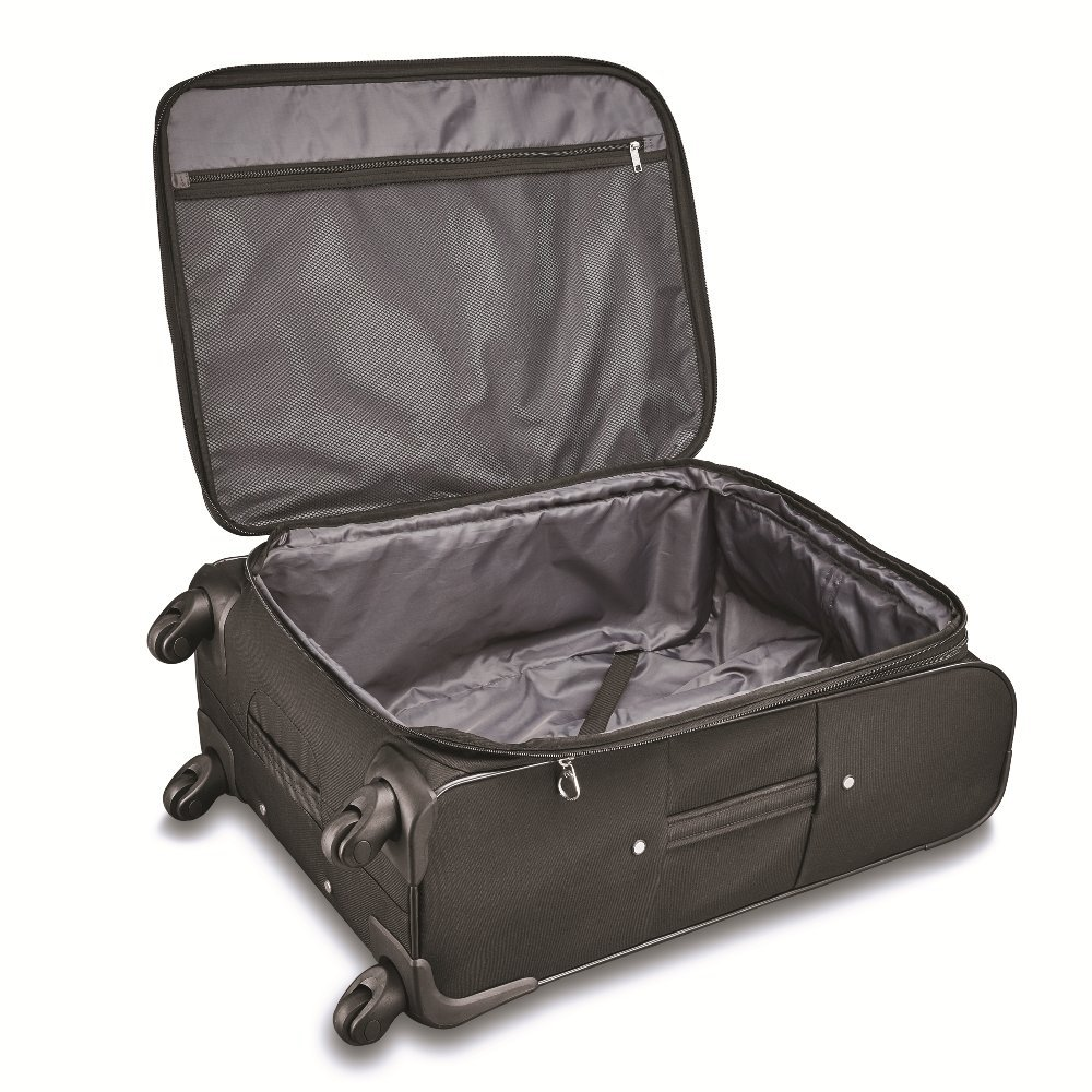 Black Samsonite Victory 2 Piece Nested Softside Set Only at Samsonite- Import 103034-1041 21//29