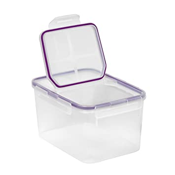 Snapware Airtight Food Storage 10.8 Cup Rectangular Container W/ Fliptop Lid