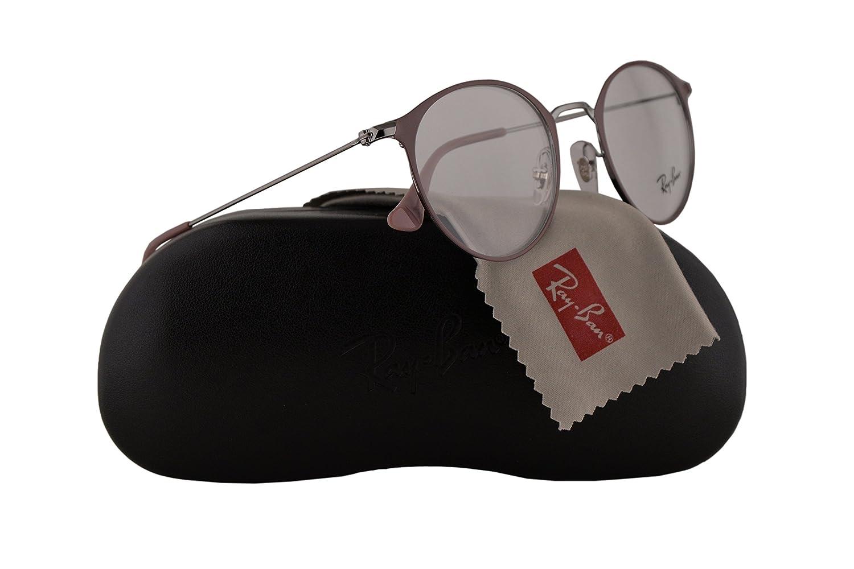 6497f0777ed Ray Ban RX6378 Eyeglasses 47-21-140 Gunmetal Turtledove w Demo Clear Lens  2907 RB6378 RB 6378 RX 6378  Amazon.co.uk  Clothing