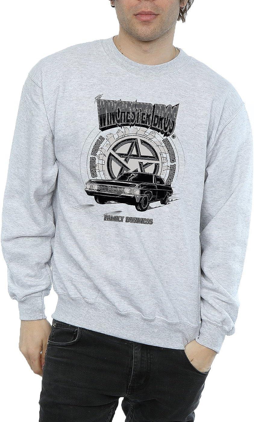 Supernatural Hombre Winchester Bros Camisa De Entrenamiento