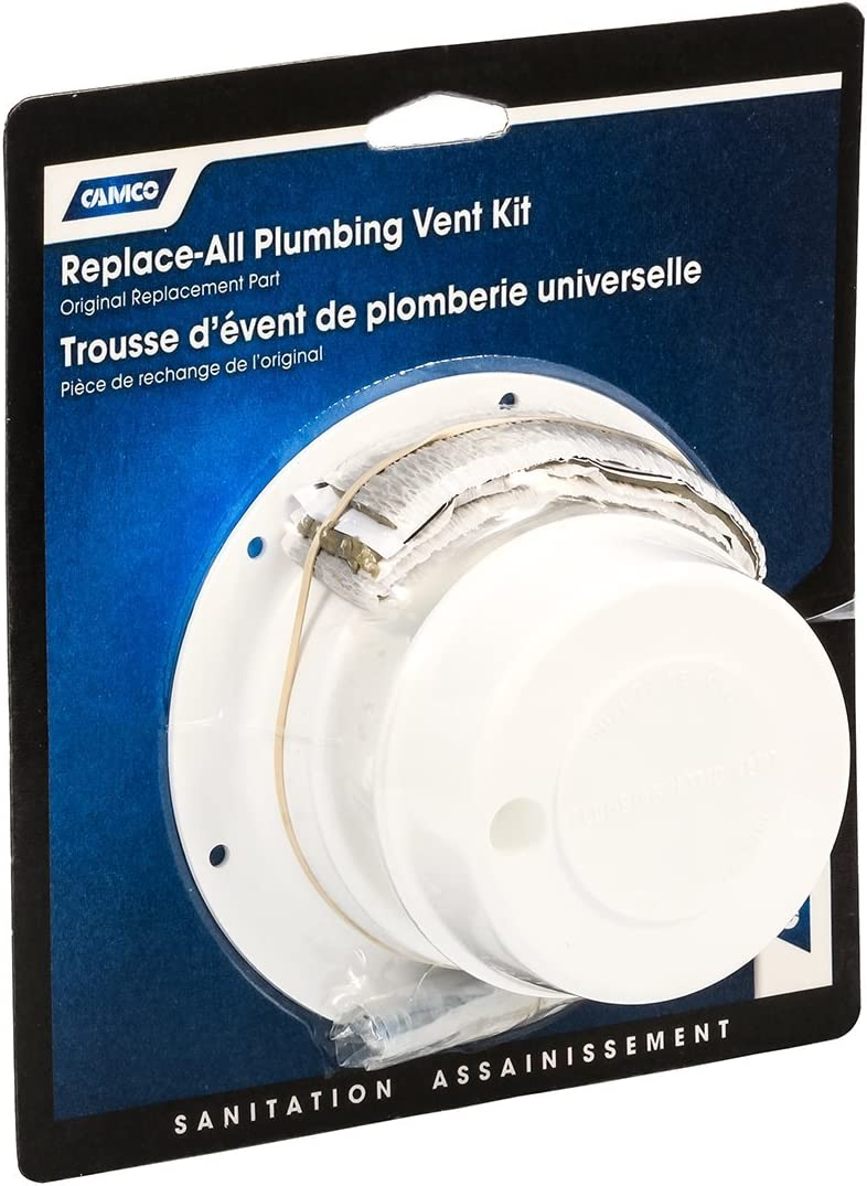 Amazon Com Camco 40033 White Replace All Plumbing Rv Vent Kit Automotive