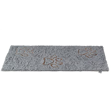 EXPAWLORER Dirty Dog Doormat 30 Inch By 61 Inch, Microfiber Absorbent Pet  Door