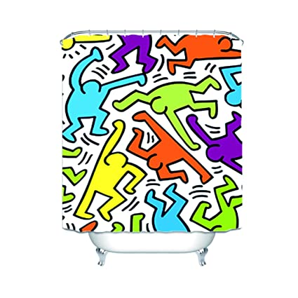 Amazon Dfdkko Keith Haring Nice Graffiti Art Waterproof