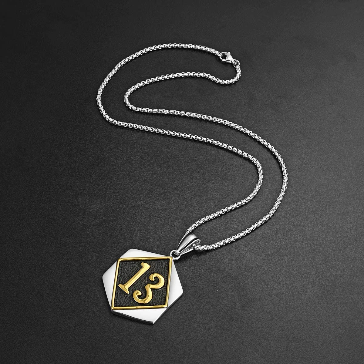 16-30 inch 2mm Curb Chain 3//4 inch Sterling Silver Block Initial D Necklace Alphabet Letters High Polished